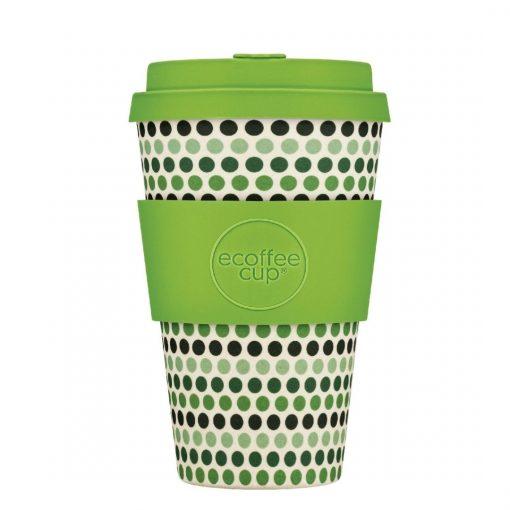 green-polka