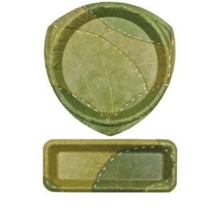 Zelené LEAF taniere